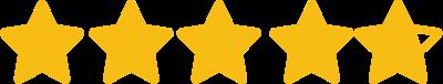 4.76/5 stars